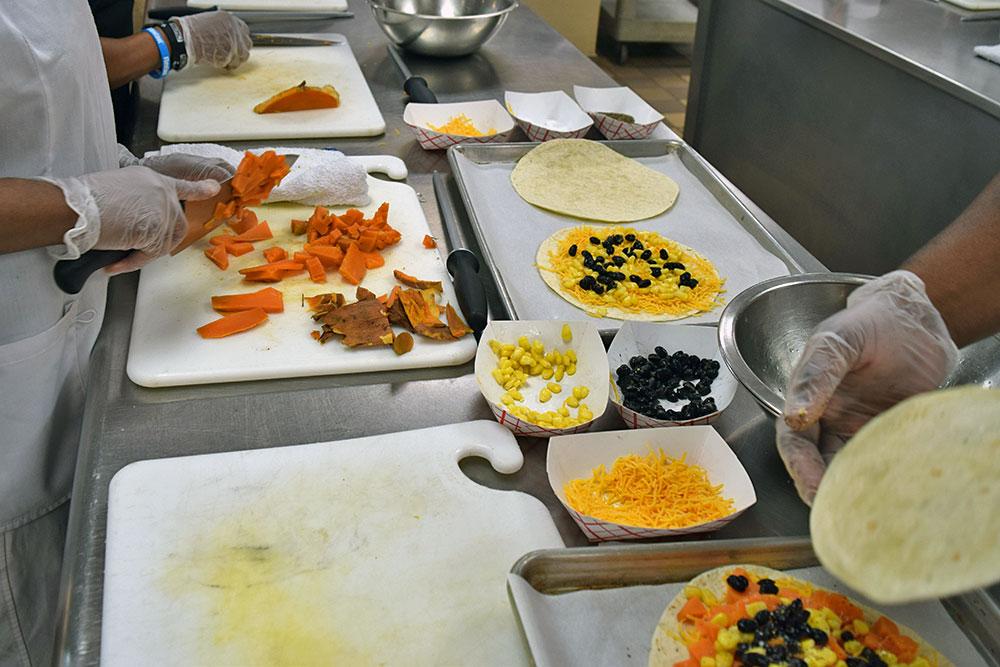 Louisiana Team Nutrition Culinary Training 2019 at Louisiana Culinary Institute in Baton Rouge, LA