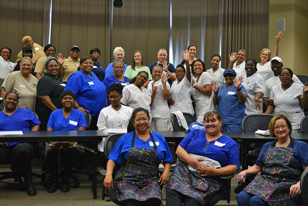 Louisiana Team Nutrition Culinary Training 2019 at Louisiana Culinary Institute in Baton Rouge, LA