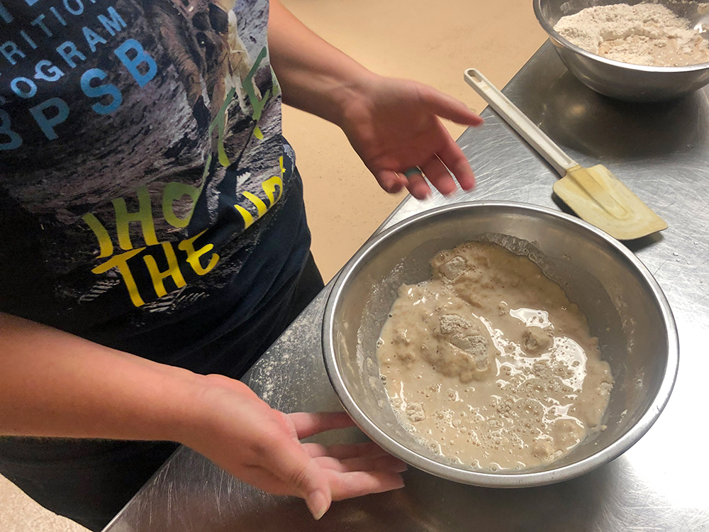 Louisiana Team Nutrition Culinary Training 2019 at Kingston Elementary in Benton, LA