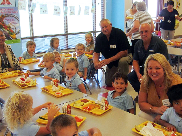 Little Pearl Elementary School - NSLW Grandparents Lunch Guests