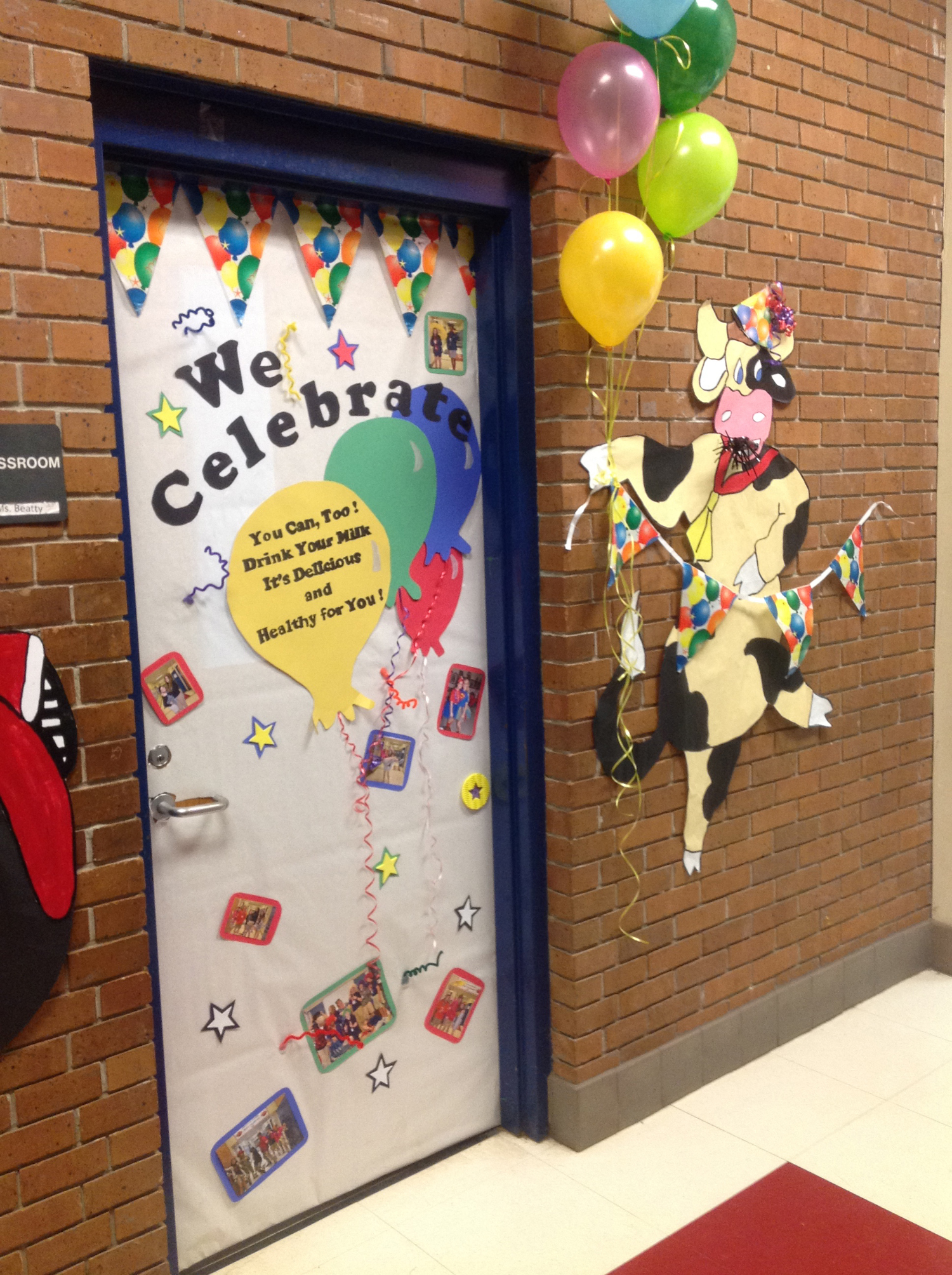 Folsom Jr. High School's Milk Day Door Decorating Contest Image 3