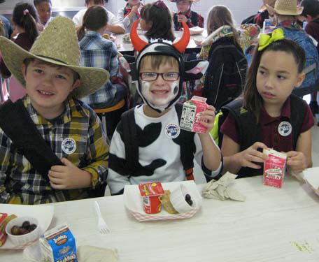 Honey Island Elementary School Milk Day Image 1