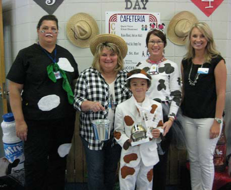 Honey Island Elementary School Milk Day Image 2