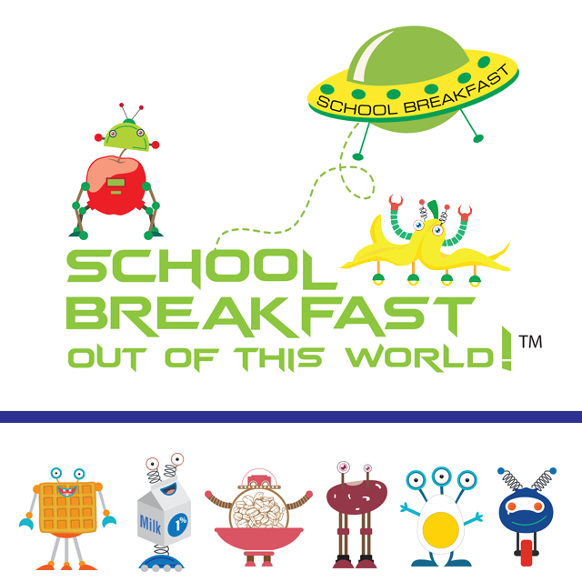 School Breakfast Out of This World! Graphic
