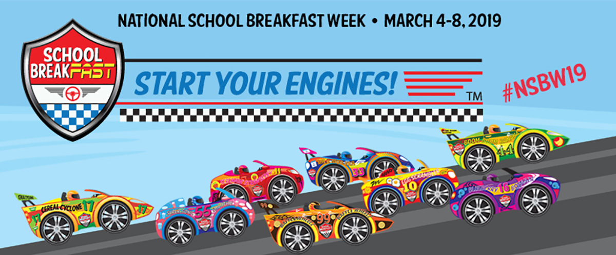 National School Breakfast Week 2019 Artwork