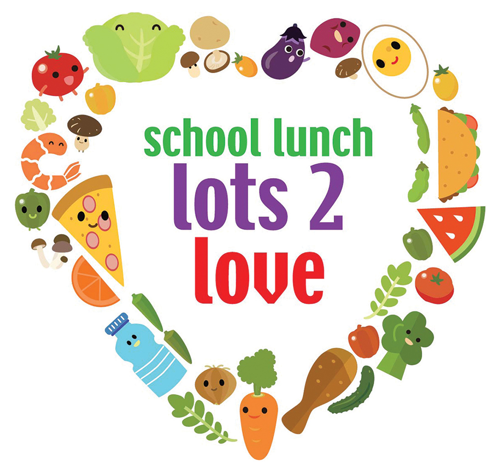 National School Lunch Week 2018 Artwork
