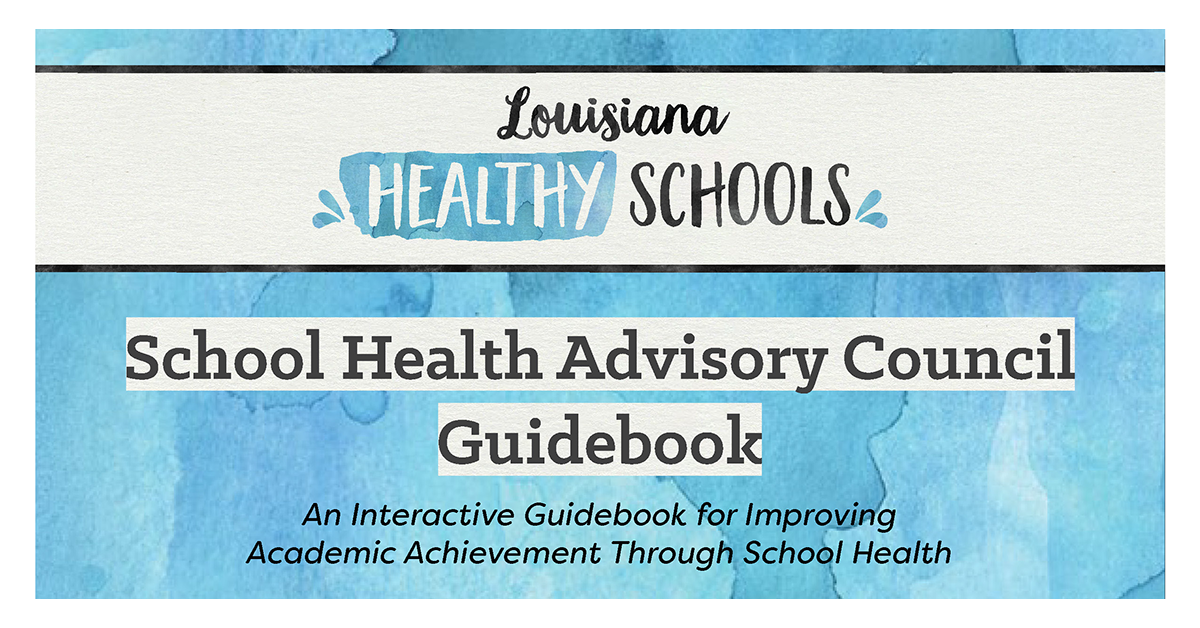 Louisiana Healthy Schools Guidebook Cover
