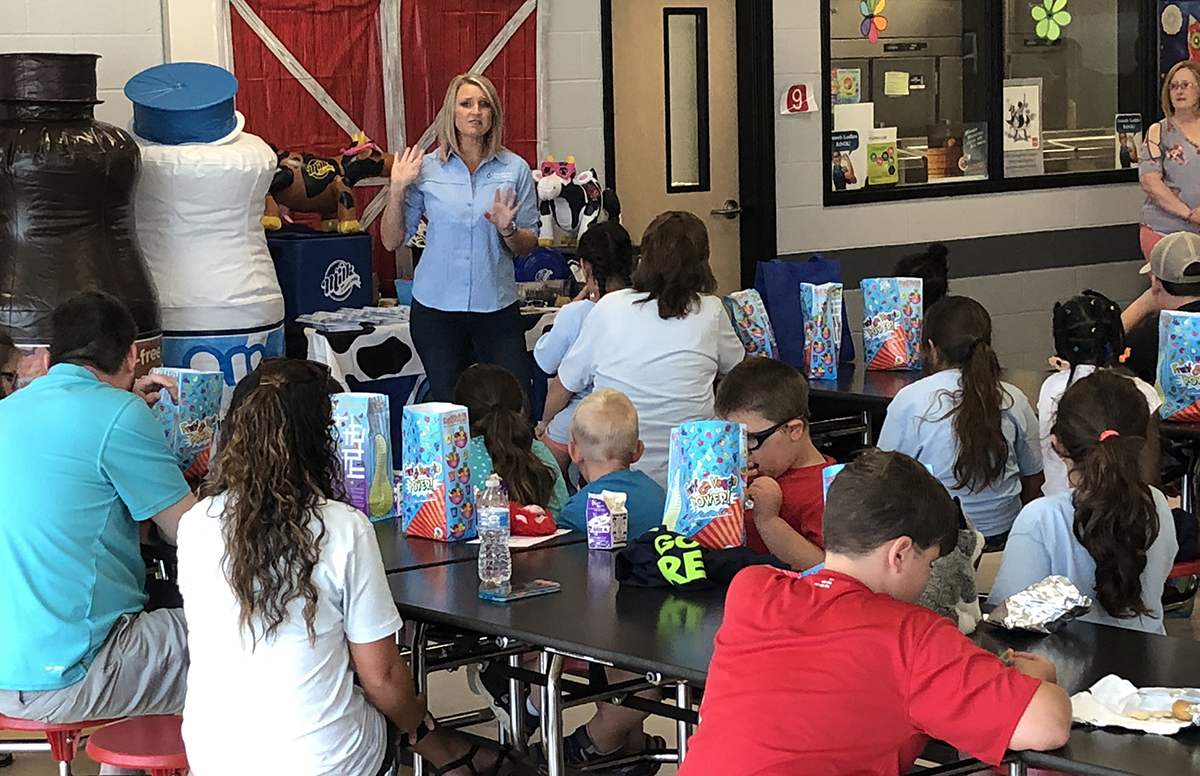 LaSalle Parish Summer Feeding Program Launch Event at Jena Elementary School with a Special Program Hosted by the Dairy Alliance