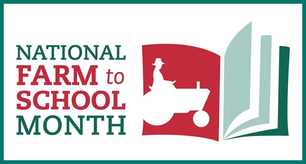 National Farm to School Month Logo