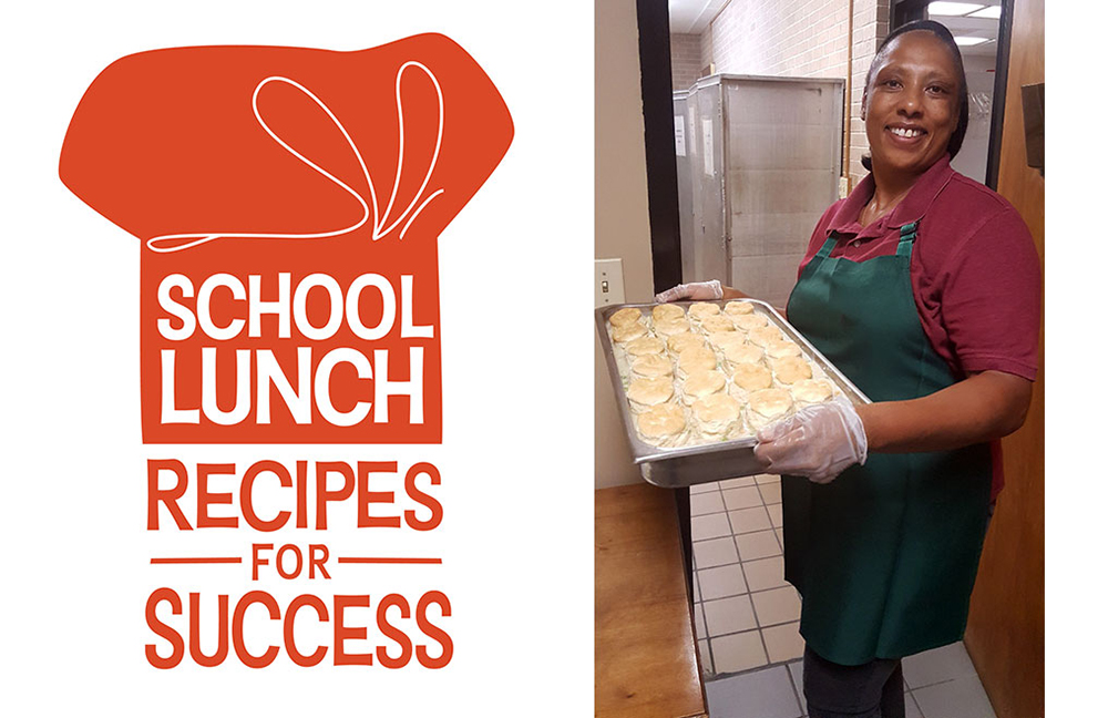 National School Lunch Week Logo and Photo