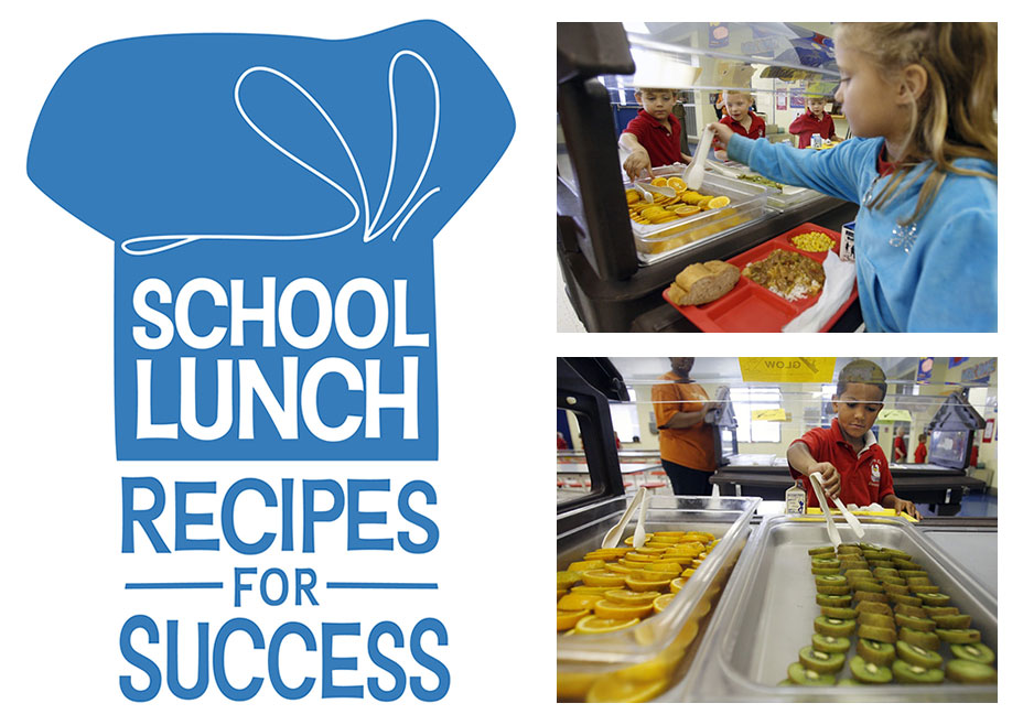 National School Lunch Week Logo and Photos