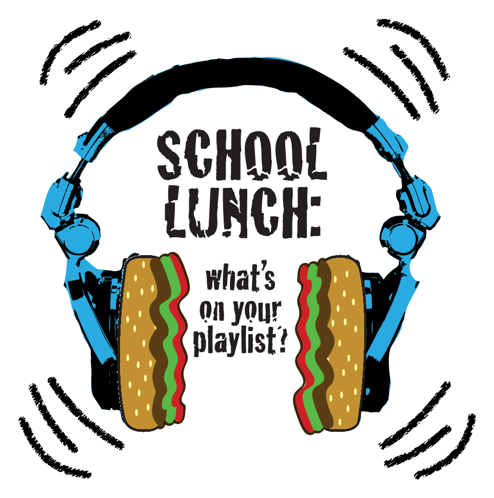National School Lunch Week 2019 Headphones Graphic