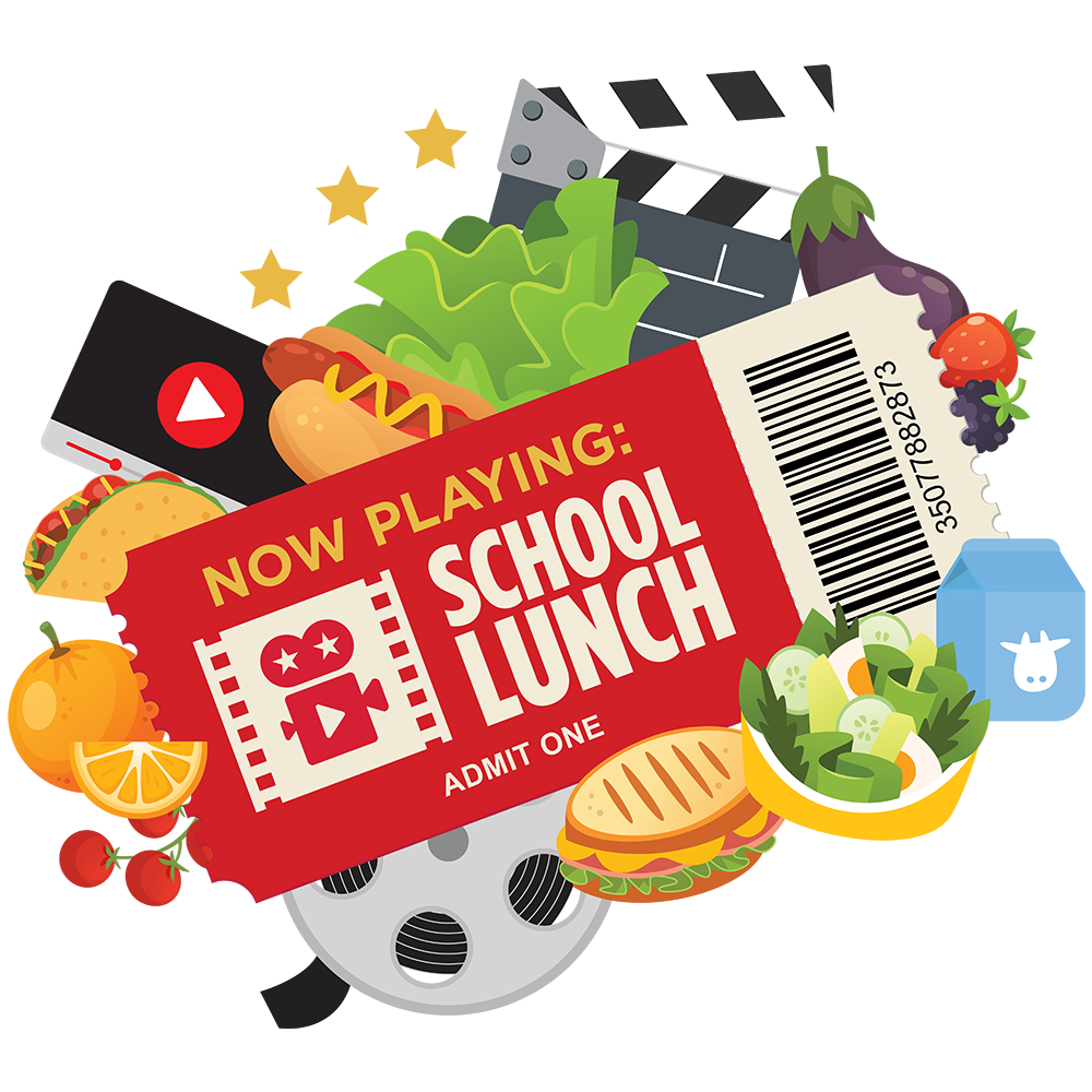National School Lunch Week 2020 Logo