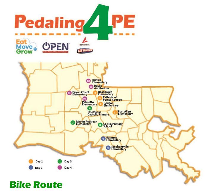 Pedaling 4 PE Logo