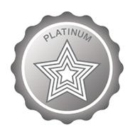 Platinum Achievement Badge Graphic