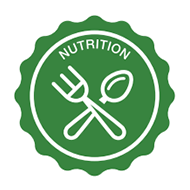 Key Area Nutrition Badge Graphic