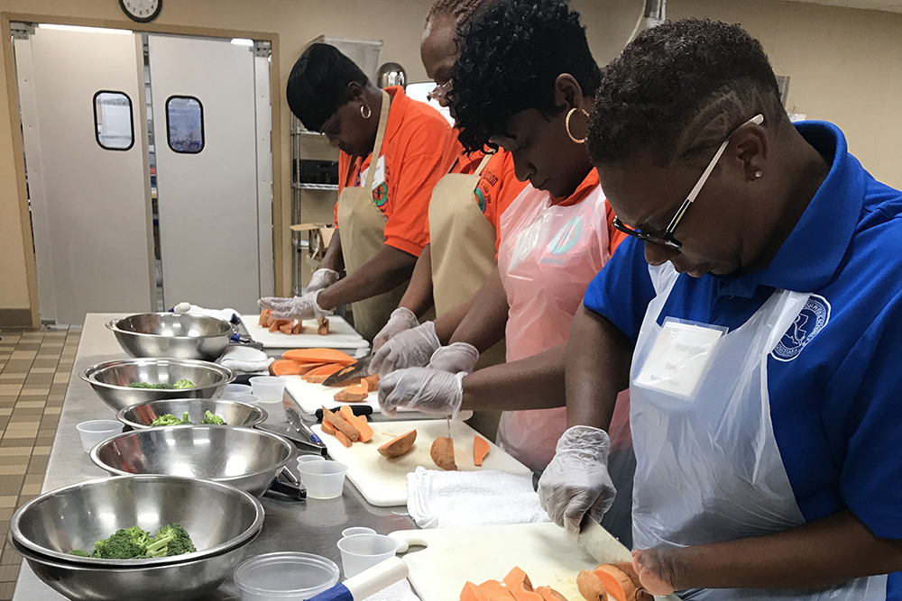 Louisiana Team Nutrition Culinary Training 2018