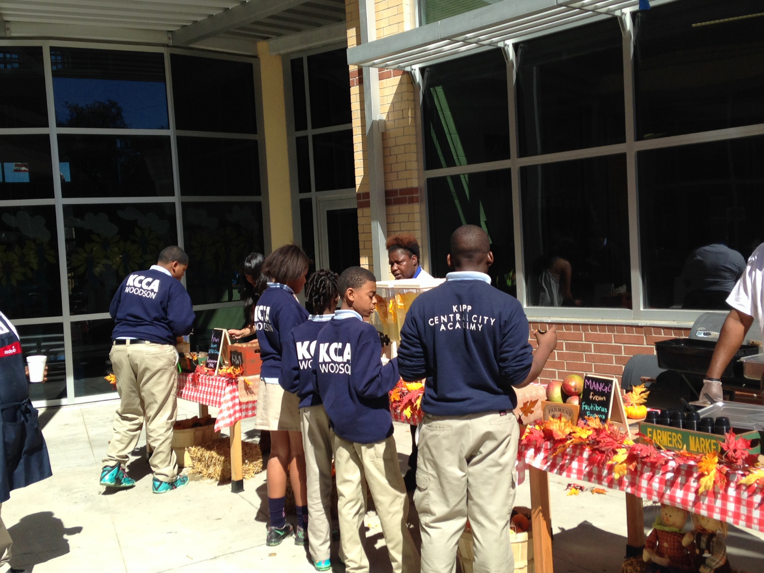 KIPP Central City Academy - Farmers Market'