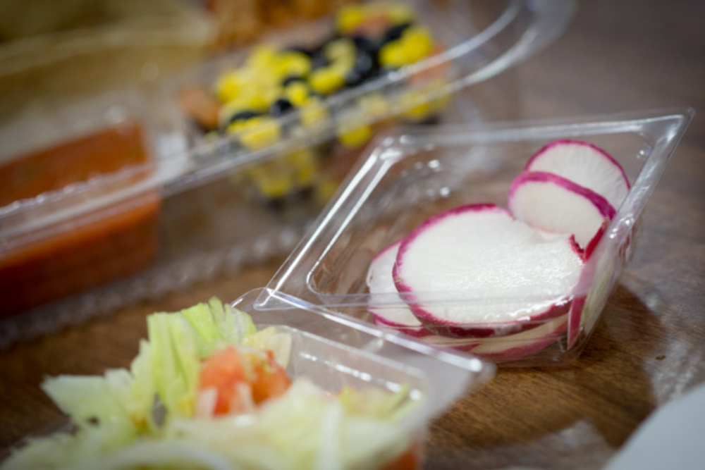 Radishes Grown in the School Garden at Acadiana High Served as School Lunch