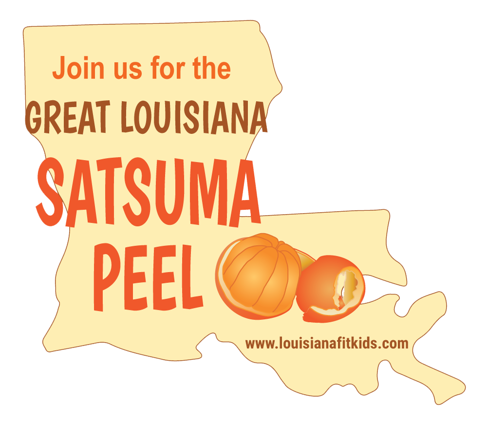Great Louisiana Satsuma Peel Logo (PNG)