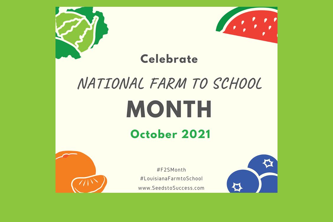 Celebrate Farm to School Month 2021