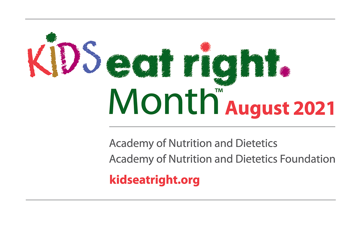 Kids Eat Right Month - August 2021 Graphic
