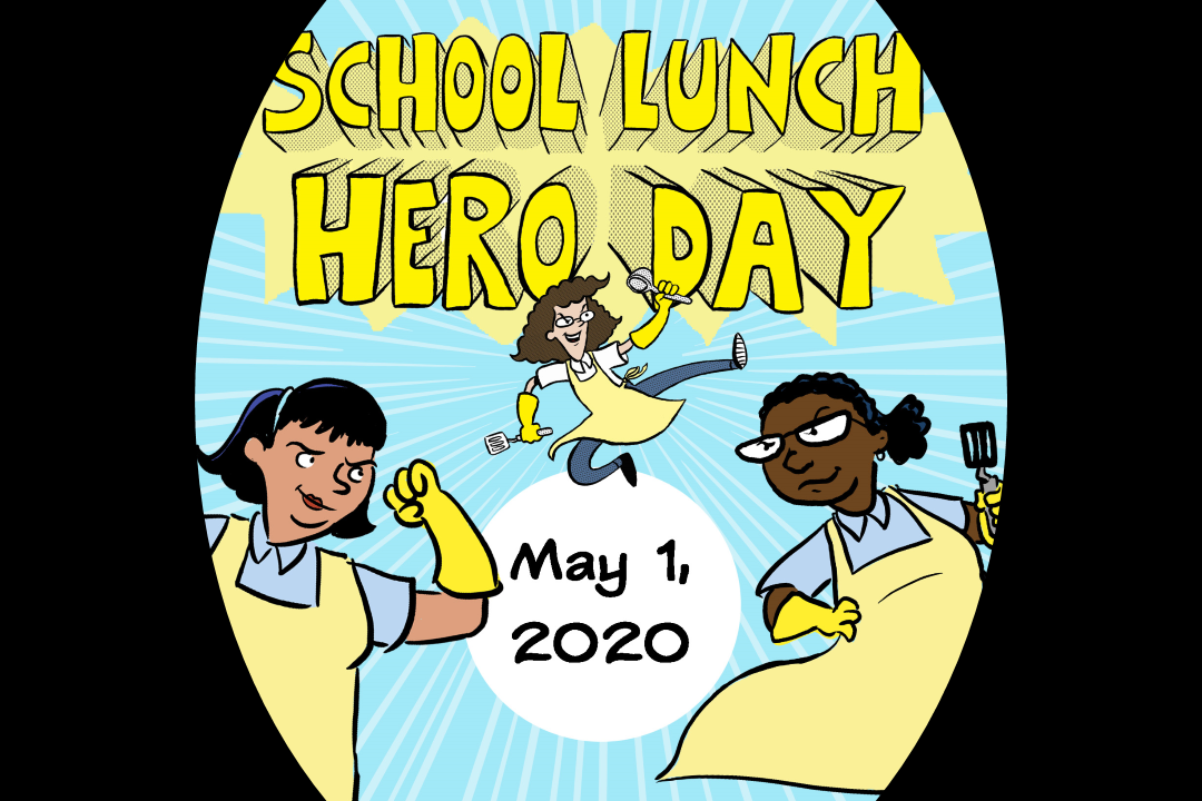 Louisiana School Lunch Hero Day 2020 Graphic