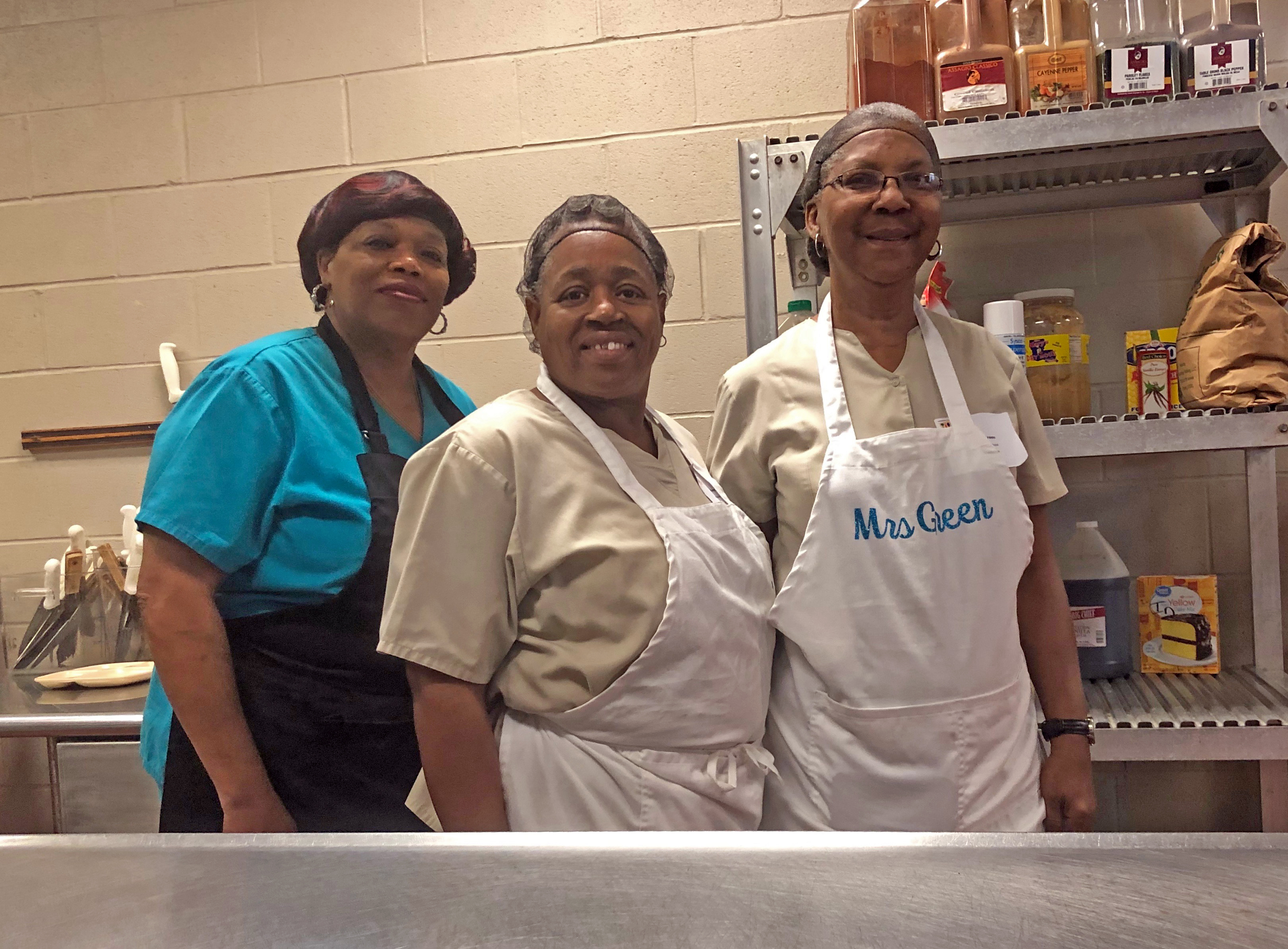 Louisiana Team Nutrition Culinary Training 2019 at Marksville Elementary in Marksville, LA
