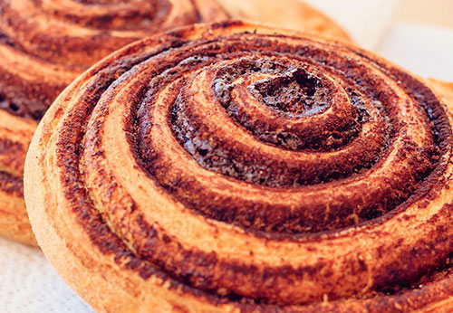 Whole Grain Cinnamon Buns Photo