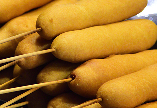 Whole Grain Corn Dog Photo