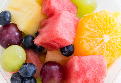 Fresh Mixed Fruit Cup Photo