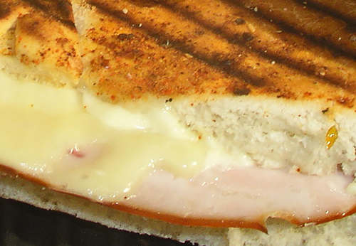 Toasted Ham and Cheese Photo