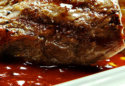 Flamebroiled Salisbury Steak & Gravy Photo