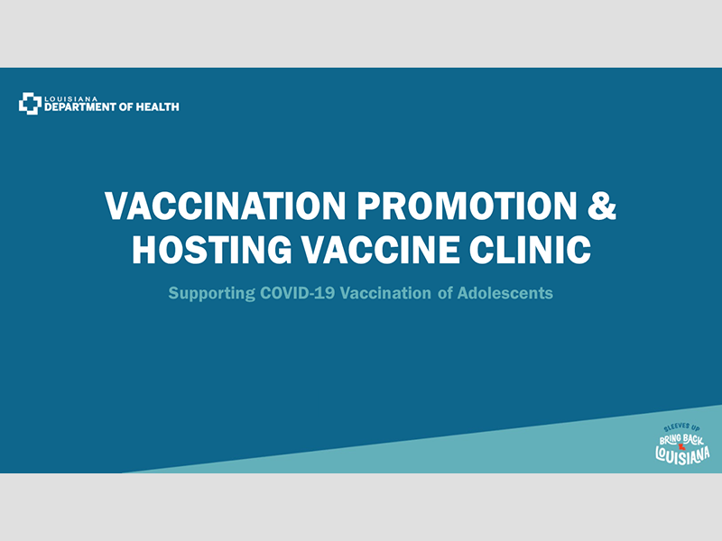 Vaccination Promotion & Hosting Vaccine Clinic - June 17, 2021