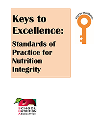 Keys to Excellence: Standards of Practice for Nutrition Integrity Icon