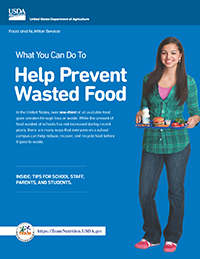 USDA What You Can Do To Help Prevent Wasted Food Icon