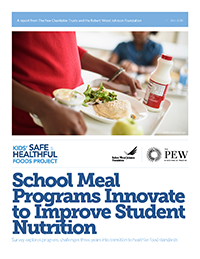 School Meal Programs Innovate to Improve Student Nutrition Icon