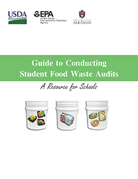 USDA Guide to Conducting Student Food Waste Audits Icon