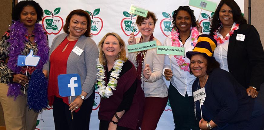 Smarter Lunchrooms Louisiana Training Participants