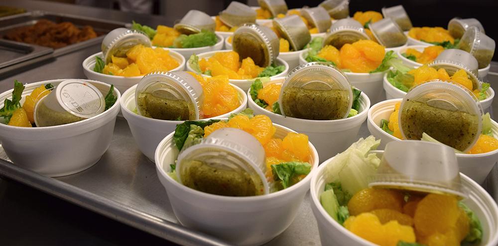 Lee High School Salad