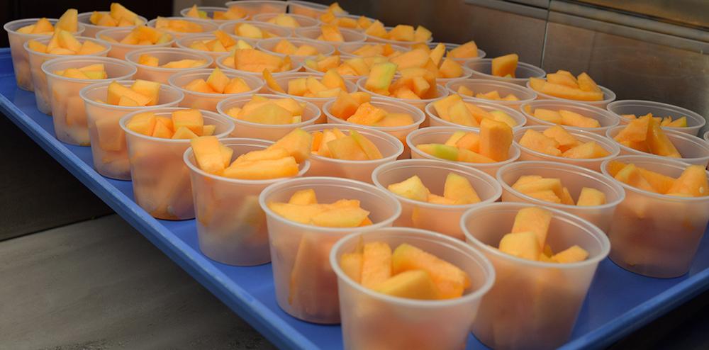 Lee High School Fruit Cups