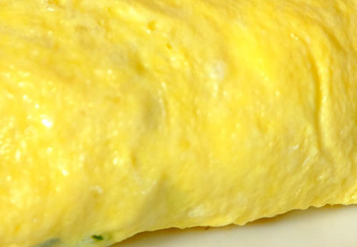 Scrambled Egg Omelet Photo