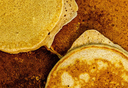 Whole Wheat Mini Pancakes Photo