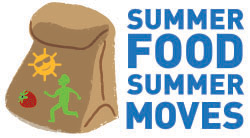 Summer Food, Summer Moves Logo