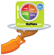 Serving Up MyPlate Logo