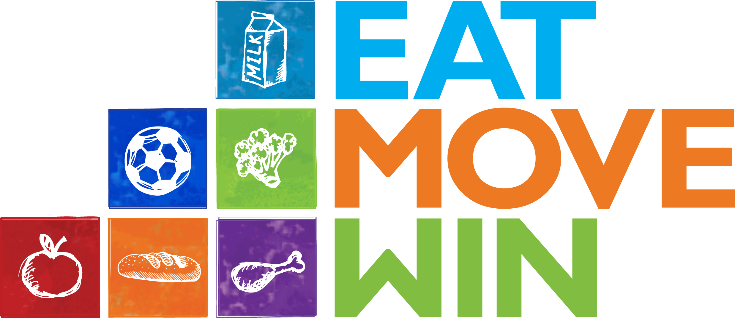 Eat Move Win Logo