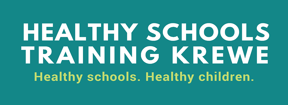 Healthy School Training Krewe Logo
